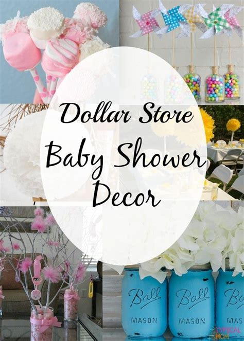 diy decorating ideas for a baby shower cheap baby shower