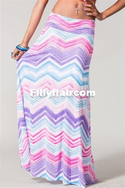 chevron maxi skirt purple chevron maxi skirt blue
