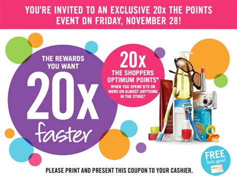 printable pers coupons canada 2014 shoppers drug mart canada printable coupons get 20x the