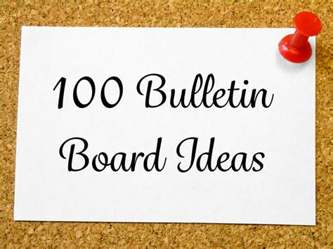 Decorate A Hospital Room by 100 Bulletin Board Ideas Page 2