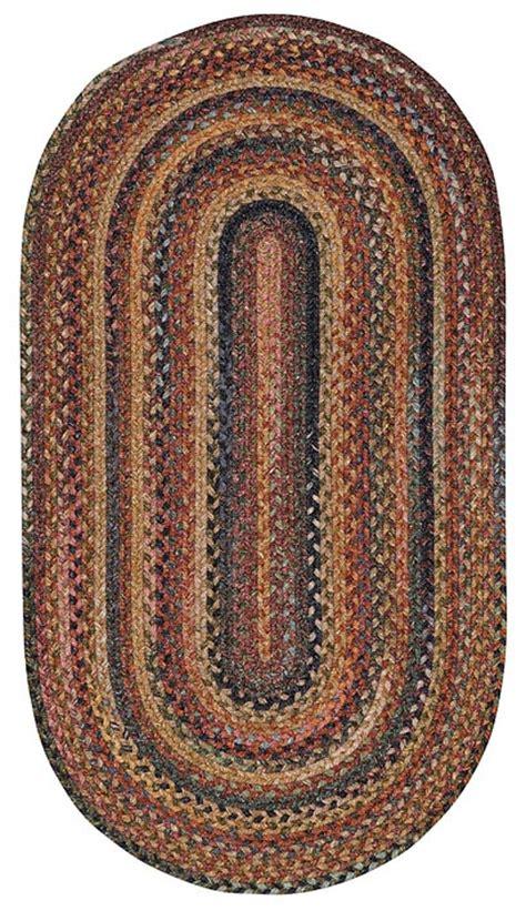 antique braided rugs antique multi braided rug