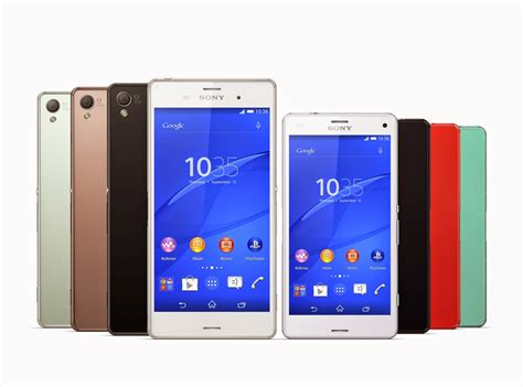sony xperia z3 ifa 2014 sony xperia z3 and xperia z3 compact officially