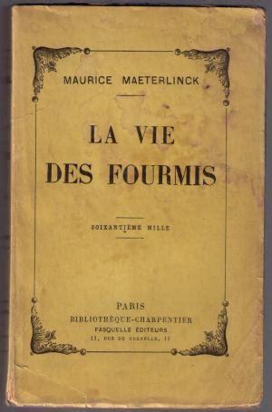Vie Des Fourmis Abebooks