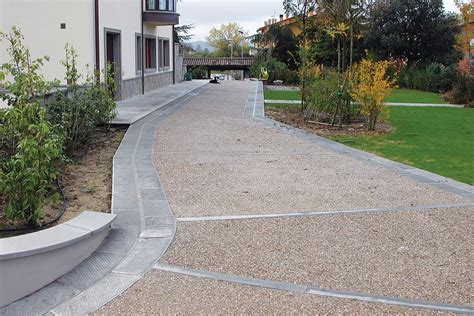 ghiaia per pavimentazioni esterne pavimenti levocell newredil