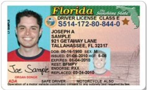 florida drivers license template babies car birthday the drivers license favor