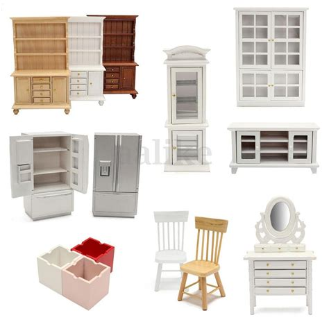 Living Room Accessories Ebay 1 12 Scale Doll House Mini Wooden Furniture Living