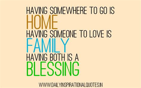 Family Quotes Family Blessings Quotes Quotesgram
