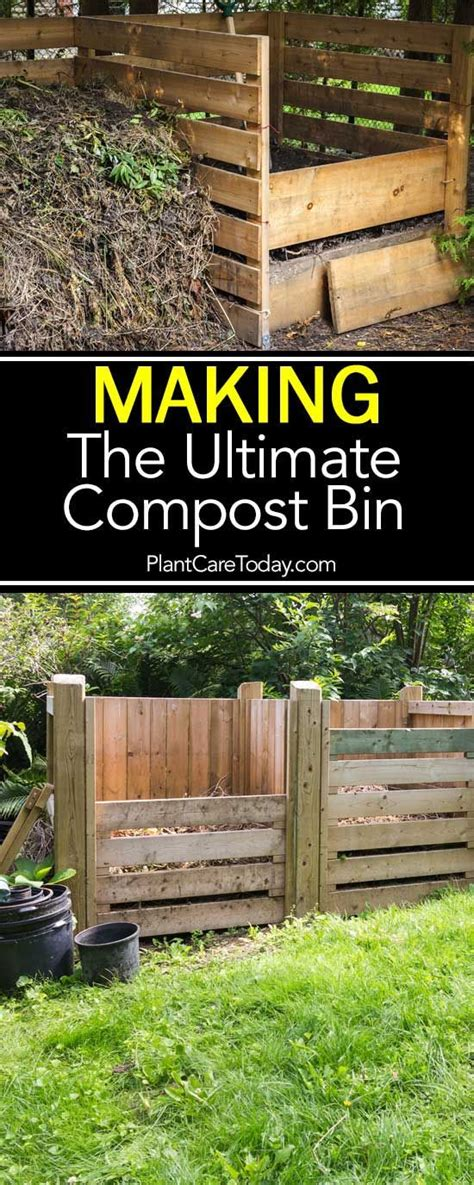 how to make the ultimate compost bin and composting
