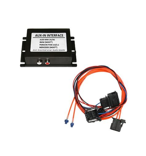 Power Supply 3005dt By Mmi aux in interface audi with most mmi3g basic high