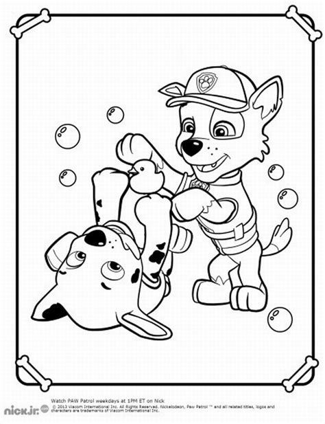 coloring pages paw patrol printable paw patrol coloring pages birthday printable