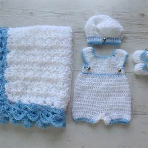 Baby boy coming home outfit crochet baby boy clothes newborn boy