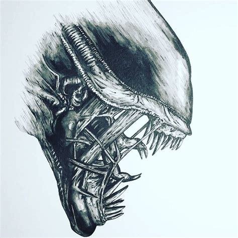8 excellent xenomorph tattoos tattoodo pin by michael kennedy on alien pinterest nice aliens