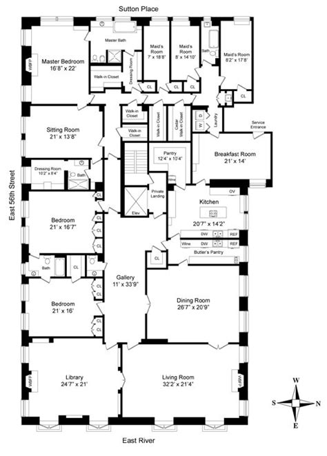 Layout Of Meredith Grey S House   grey s anatomy house plan poster monday november 19