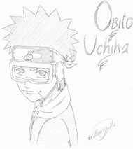 obito uchiha coloring pages