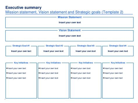 strategic plan template simple strategic plan template by ex mckinsey consultants