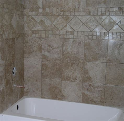 bathroom tile wall ideas wood tile flooring in the large bathroom home depot