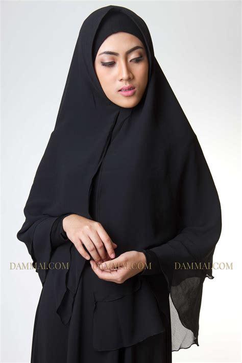 Syari Black black syar i jilbab dammai