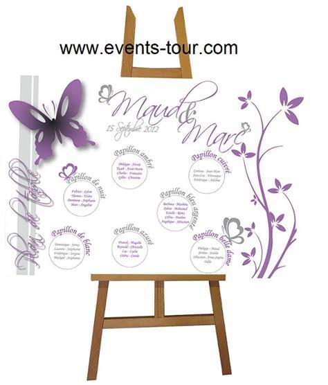 plan de table papillon plan de table papillon mariage mariage