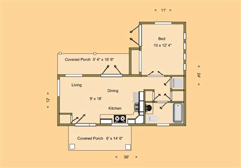 tiny house dimensions blog cozy home plans part 4