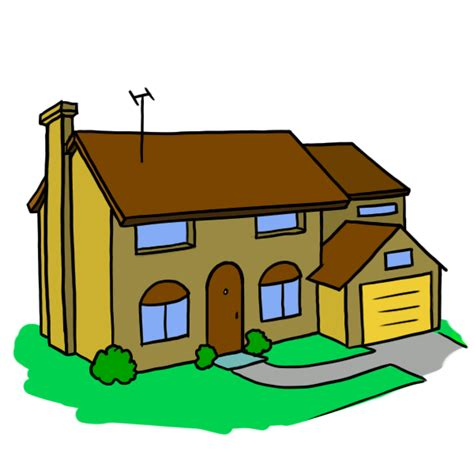 cartoon house house cartoon png clipart best