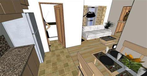 contemporary  bedroom condo  skp model  sketchup