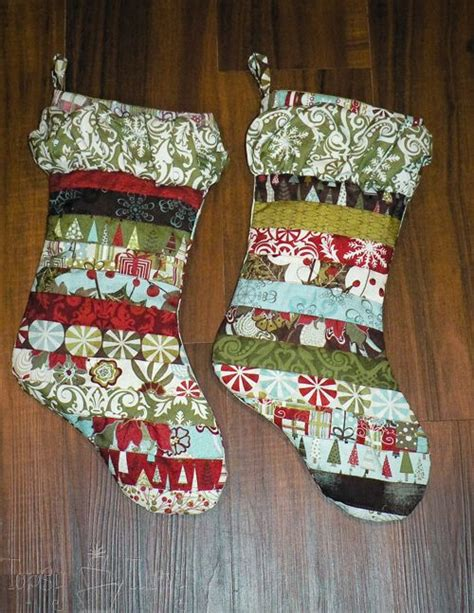 xmas stocking pattern ideas the 25 best quilted christmas stockings ideas on