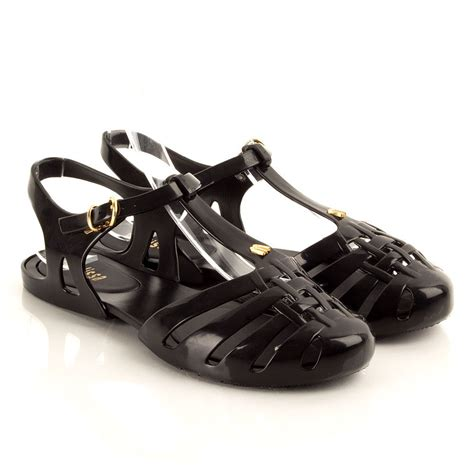 jelly sandals black aranha hits s jelly sandal