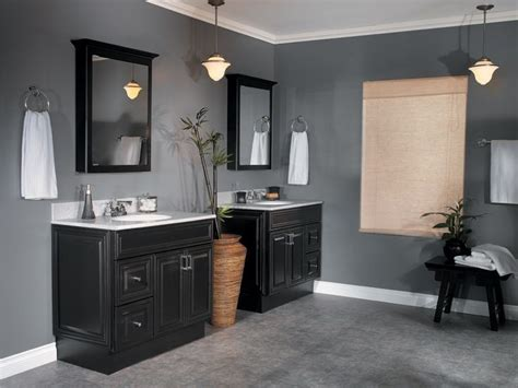 top 25 ideas about black cabinets bathroom on