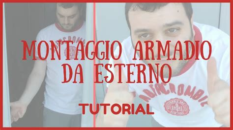 come montare un armadio tutorial hd come montare un armadio per le scope da