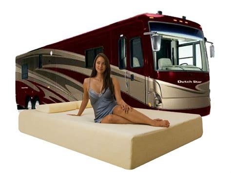 Rv Bed by 10 Quot Rv Deluxe Cool Memory Foam Mattress For Rv