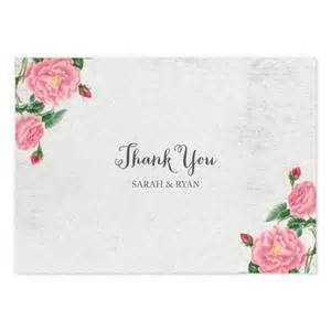 Vintage botanical thank you card crafty pie press