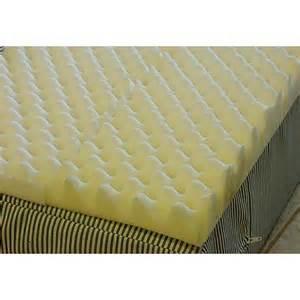image for val med foam eggcrate mattress overlay