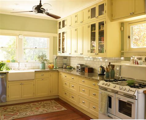 Yellow Bathroom Rugs Craftsman Bungalow Craftsman Kitchen Los Angeles