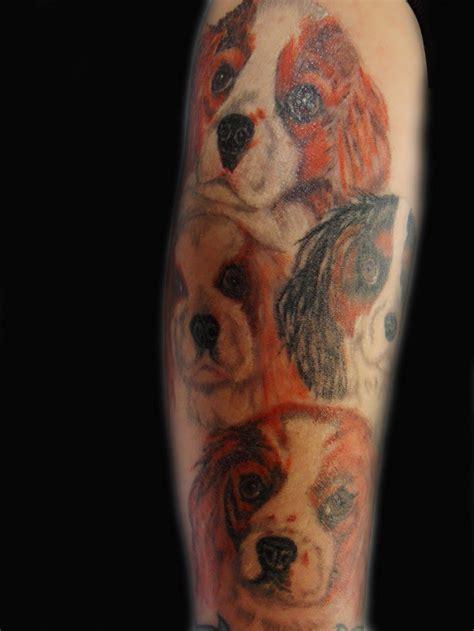 coolest cavalier king charles spaniel tattoo designs