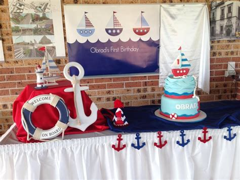 Nautical Decorations Australia nautical theme birthday room decoration
