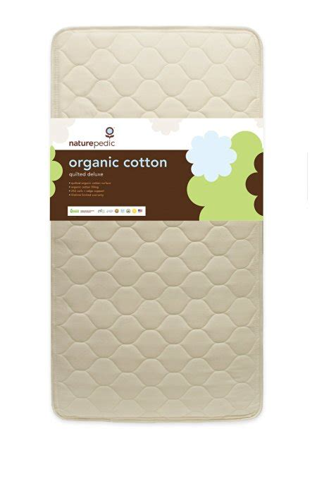 Naturepedic Crib Mattress Review with Naturepedic Quilted Organic Cotton Deluxe Crib Mattress Review