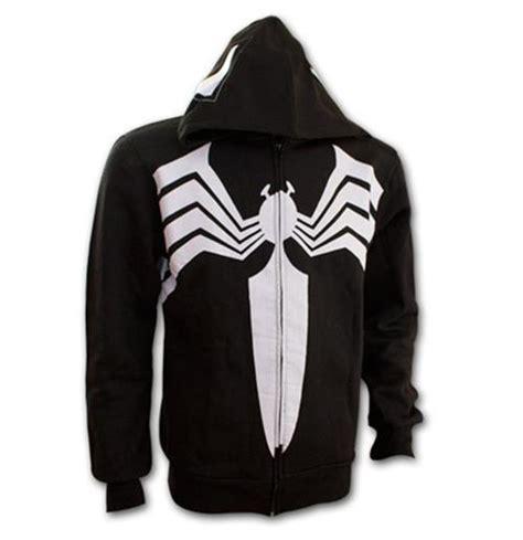 official spiderman venom eyes mask black hoodie buy