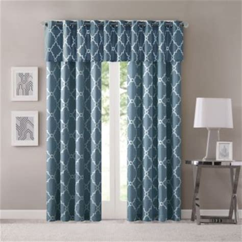 bed bath and beyond saratoga madison park saratoga grommet top window curtain panel and