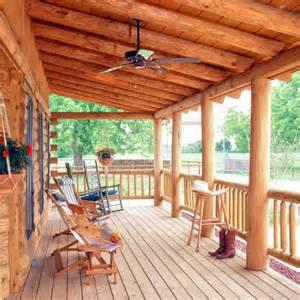 Log Porches circle 9 ranch a real log home retreat 171 real log style