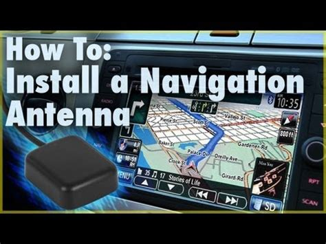 install  gps navigation antenna car stereo accessory car audio  youtube
