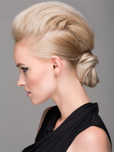 edgy updo hairstyles for long hair bridal faux hawk for the edgy bride bridal updo updo