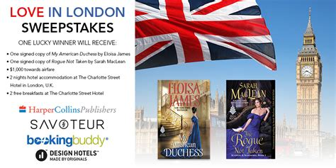 American Sweepstakes Publishers Complaints - the love in london sweepstakes sponsored by harpercollins publishers got fiction