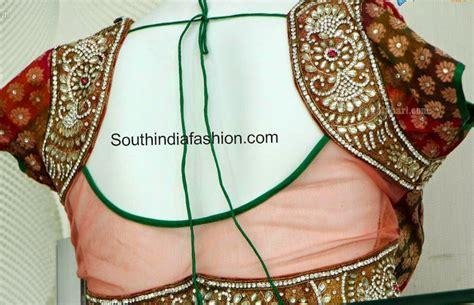 design blouse net blouse patterns