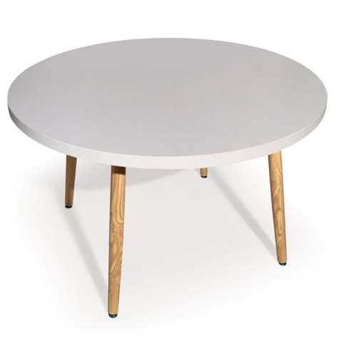 Table Scandinave Ronde by Table Ronde Scandinave Nora Blanc Achat Vente Table 224