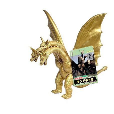 Godzilla Bandai 1998 Figure Kaiju toho kaiju king ghidorah figure ghidora 1998 green tag