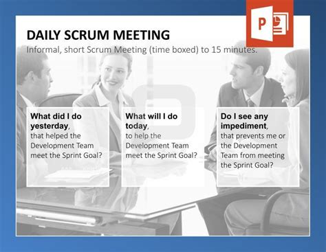 68 Best Scrum Powerpoint Templates Images On Pinterest Project Management Productivity And Sprint Powerpoint Template