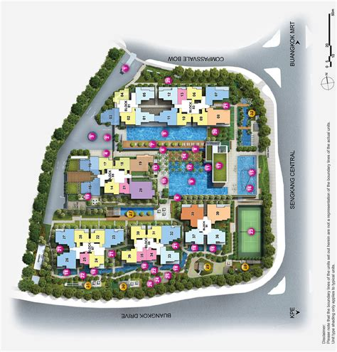 jewel buangkok site plan developer sale official jewel at buangkok site plan singapore private condo for sale