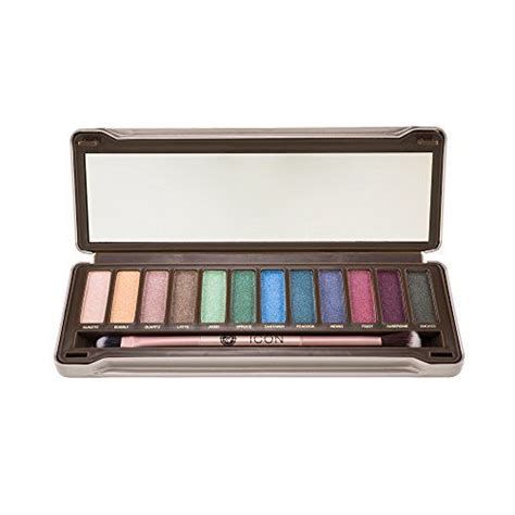 Make Up Absolute New York icon eyeshadow palette noir garden absolute new york