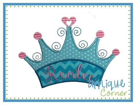 Map 3 Princess 2 Design princess crown applique can insert name 4x4 5x7 6x10 e designs