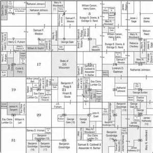 foster township 26n range 4w plat map clark